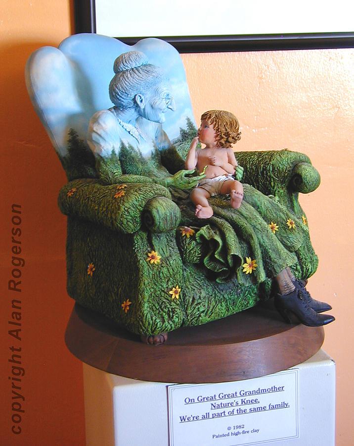Sculpture Sculpture - Mother Nature by Alan Rogerson