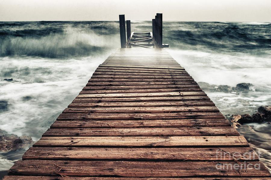 Atlantic Photograph - Mother Nature by Stelios Kleanthous