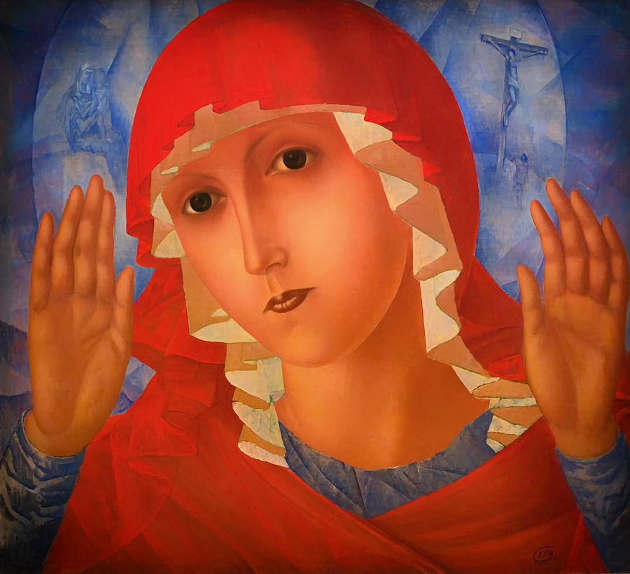 Mother Of God Painting - Mother Of God by Mountain Dreams