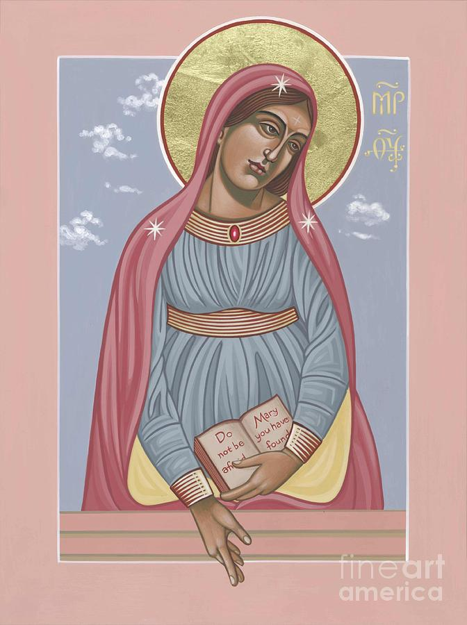 Mother Of God Painting - Mother of Holy Hope 263 by William Hart McNichols