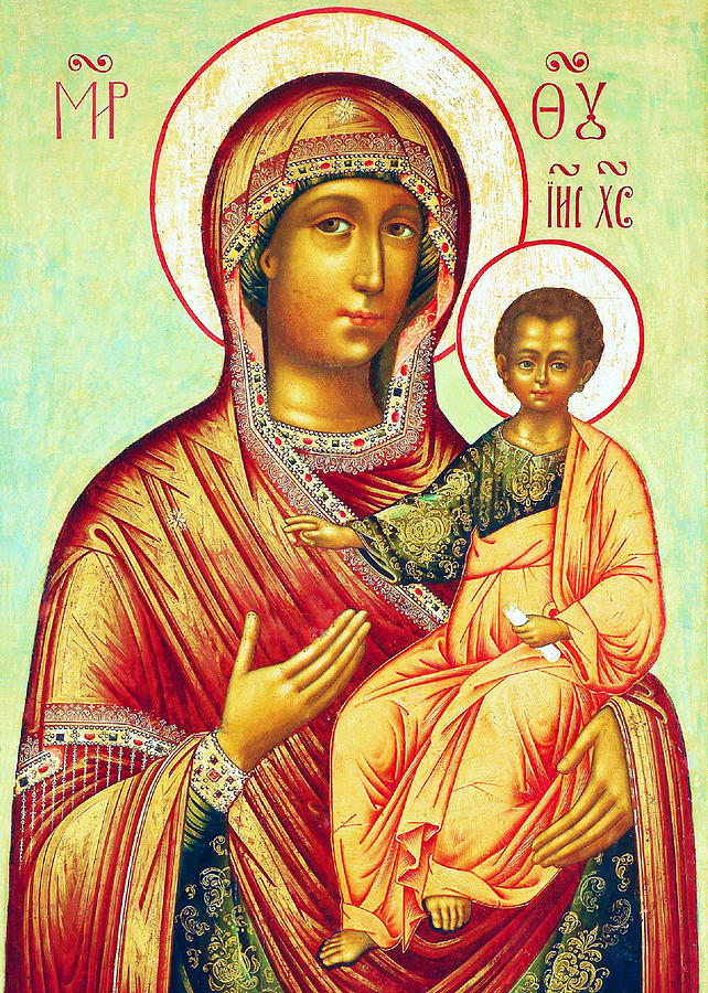 Mother Of Jesus Photograph - Mother Of Jesus by Munir Alawi