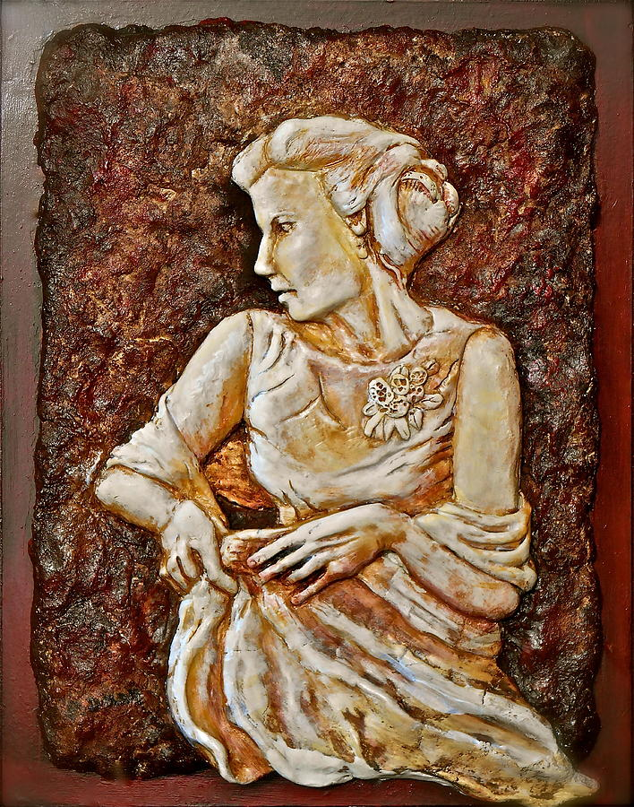 Bride Sculpture - Mother Of The Bride by Phyllis Dunn
