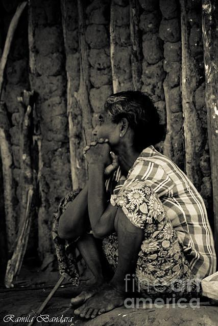 �but There's A Story Behind Everything. How A Picture Got On A Wall. How A Scar Got On Your Face. Sometimes The Stories Are Simple Photograph - Mother  by Ramila Bandara