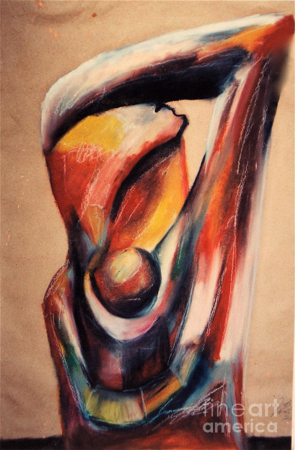 Mother With Child Pastel - Mother with Child by Jon Kittleson