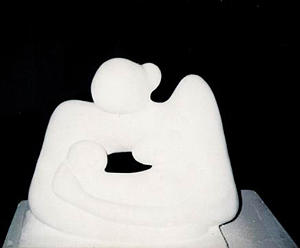 Motherhood Sculpture by Elmorsi Elharty