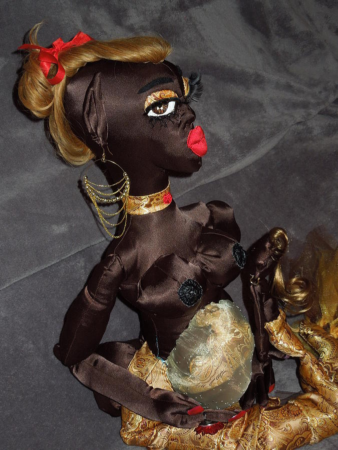 Pregnant Sculpture - Motherhood - Pregnant Mermaid  by Cassandra George Sturges