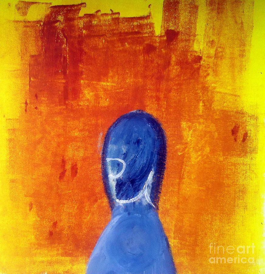 Man Painting - Motherland by B Lan