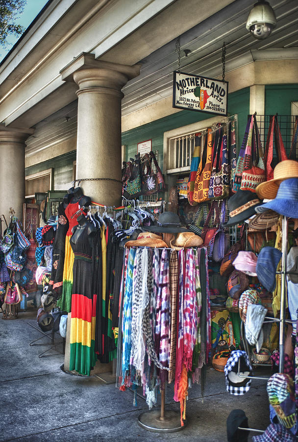 French Market Photograph - Motherland by Brenda Bryant