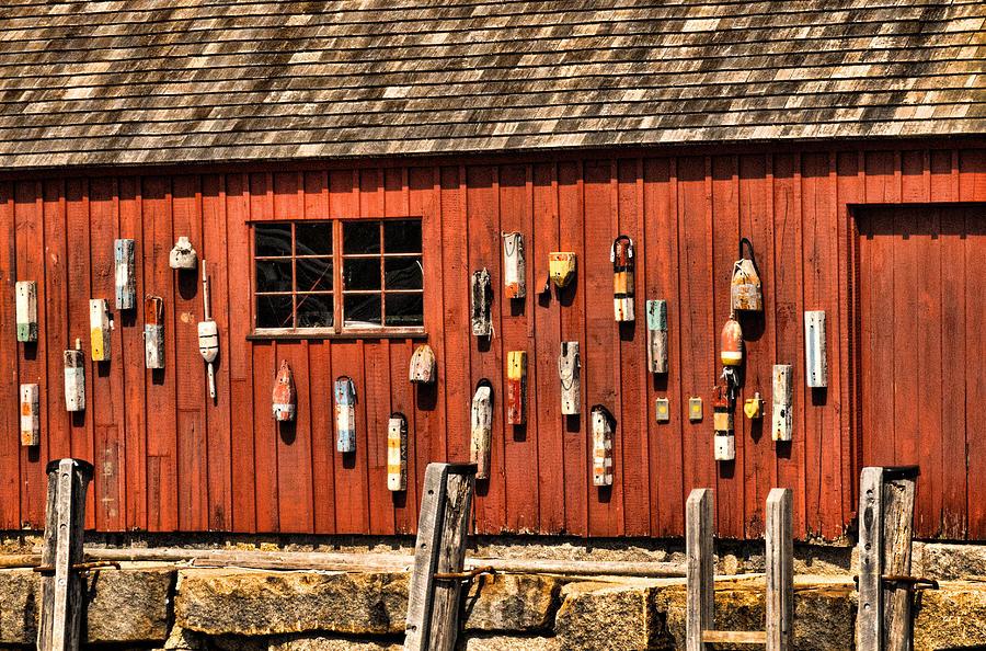 New England Photograph - Motif no. 1 Close-up by Nancy De Flon