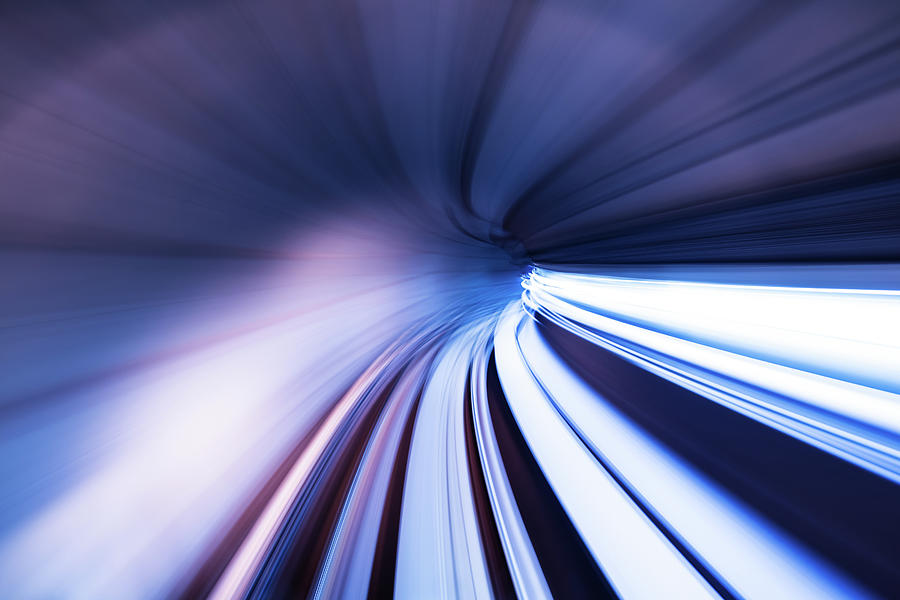 Motion Tunnel Photograph by Loveguli