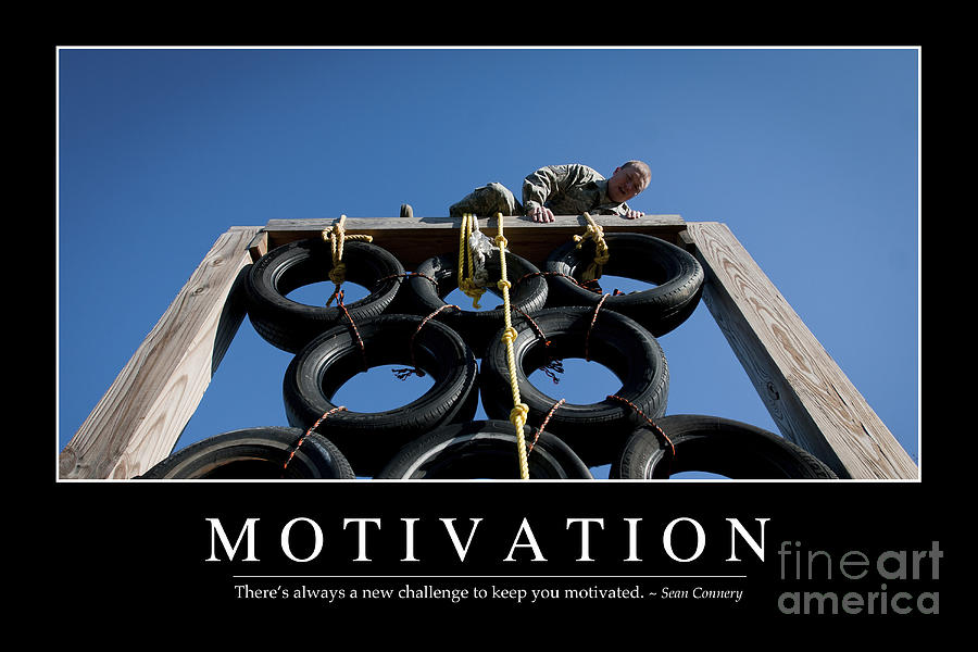 Horizontal Photograph - Motivation Inspirational Quote by Stocktrek Images