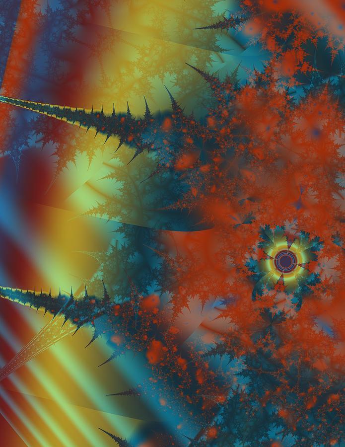 Digital Art - Motive by Mike Turner
