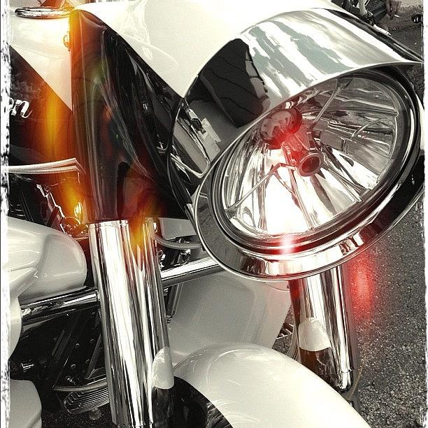 Custom Photograph - #motorcycle #motorcycles by Mike Maher