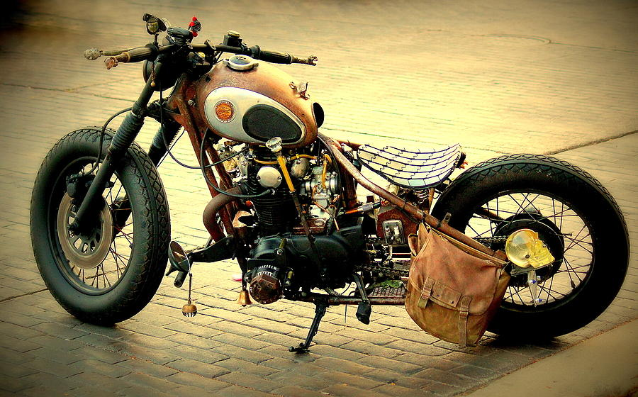 Motorcycle Photograph - Motorcycle Statement by Rosanne Jordan