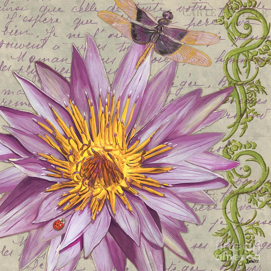 Floral Painting - Moulin Floral 1 by Debbie DeWitt