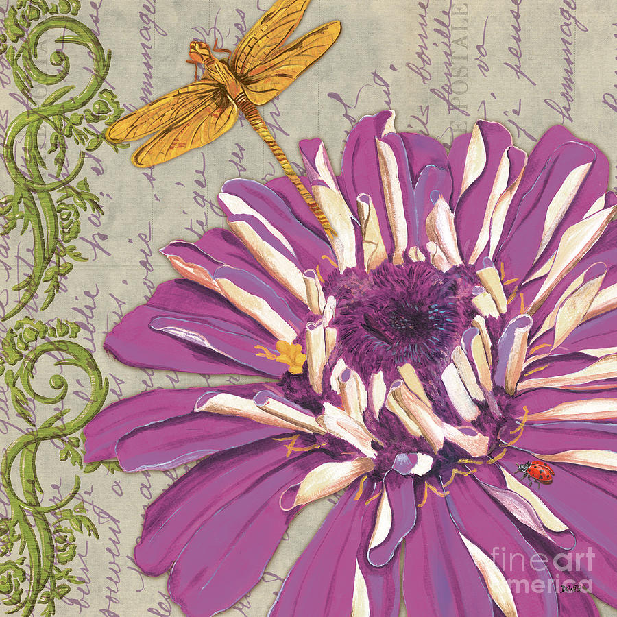 Floral Painting - Moulin Floral 2 by Debbie DeWitt
