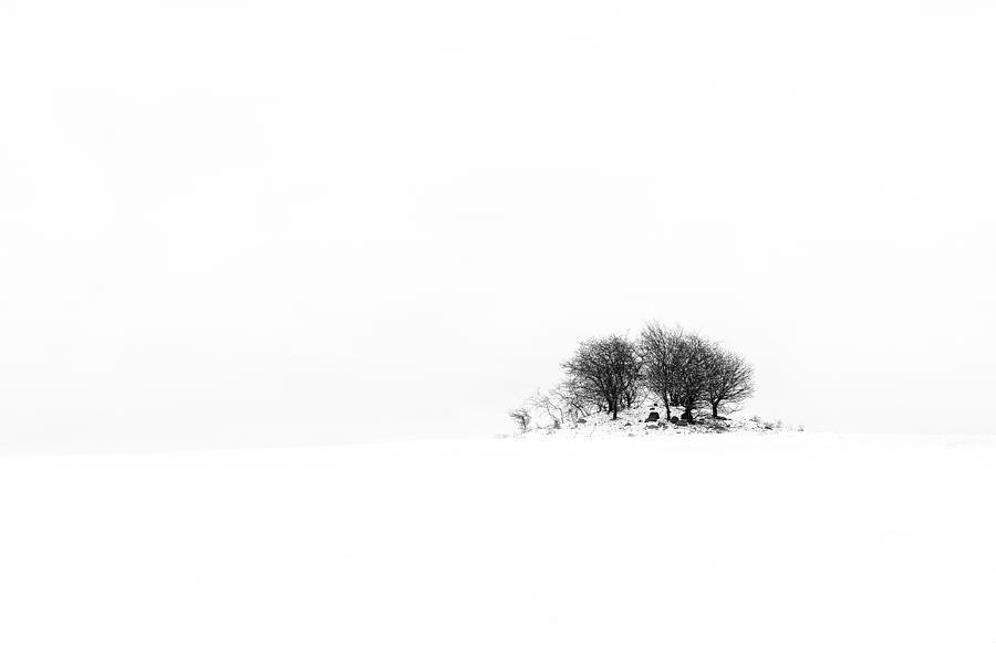 B & W Photograph - Mound by Gert Lavsen