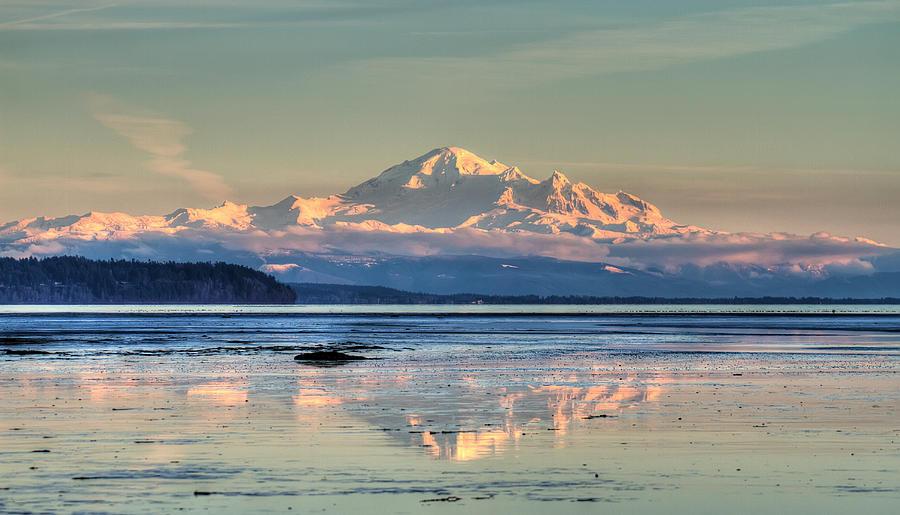 Mount Photograph - Mount Baker North Cascades National Park by Pierre Leclerc Photography