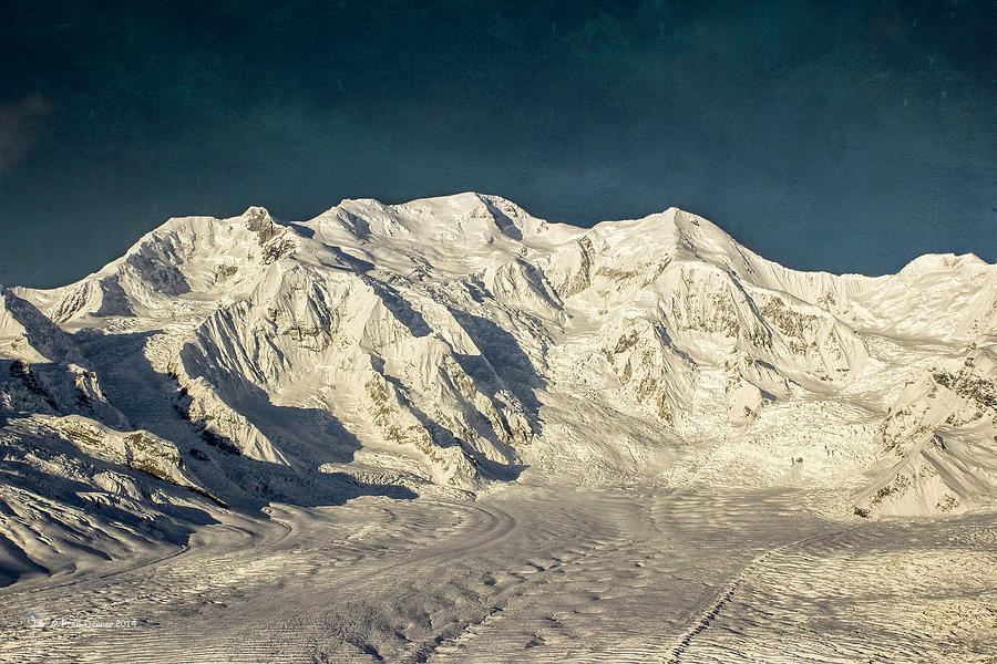 Mount Blackburn Photograph - Mount Blackburn by Fred Denner