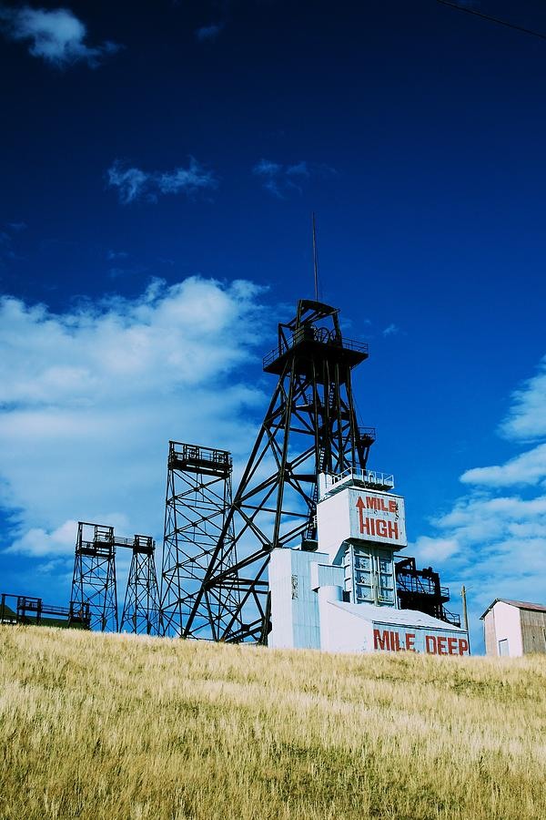 Butte Montana Photograph - Mount Con Mine 2 Butte Mt by Kevin Bone