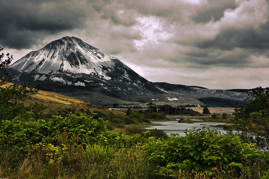 Donegal Photograph - Mount Errigal by Jane McIlroy