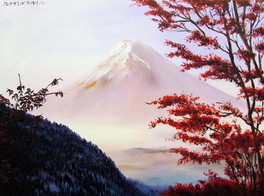 Mount Fuji by Alexandra Louie