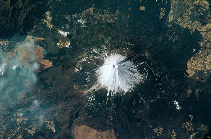 Mount Fuji Photograph - Mount Fuji by Nasa/science Photo Library