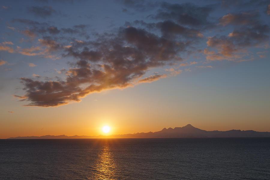 Mount Iliamna At Sunrise  Lake Clark Photograph by Ingo Arndt