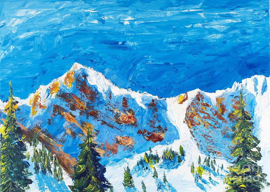 Mount Ogden Bowl Painting