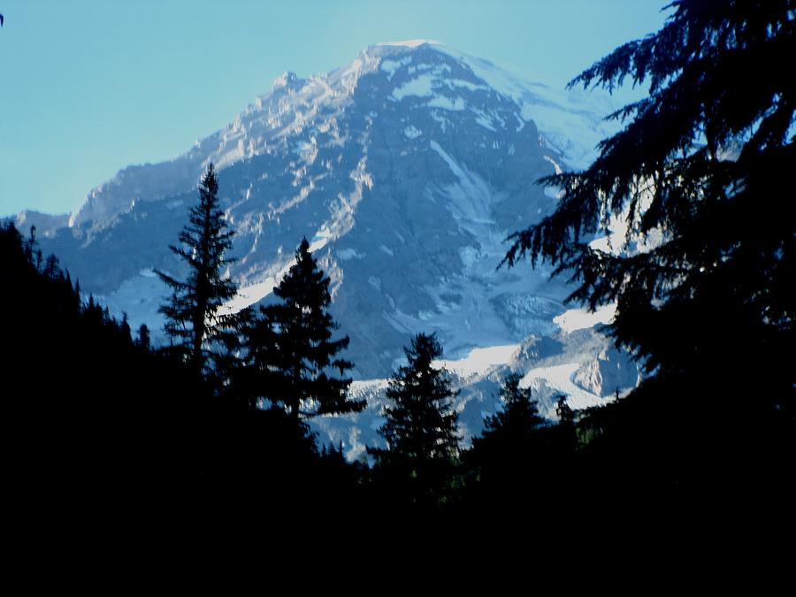 Kathy Long Photograph - Mount Rainier 14 by Kathy Long