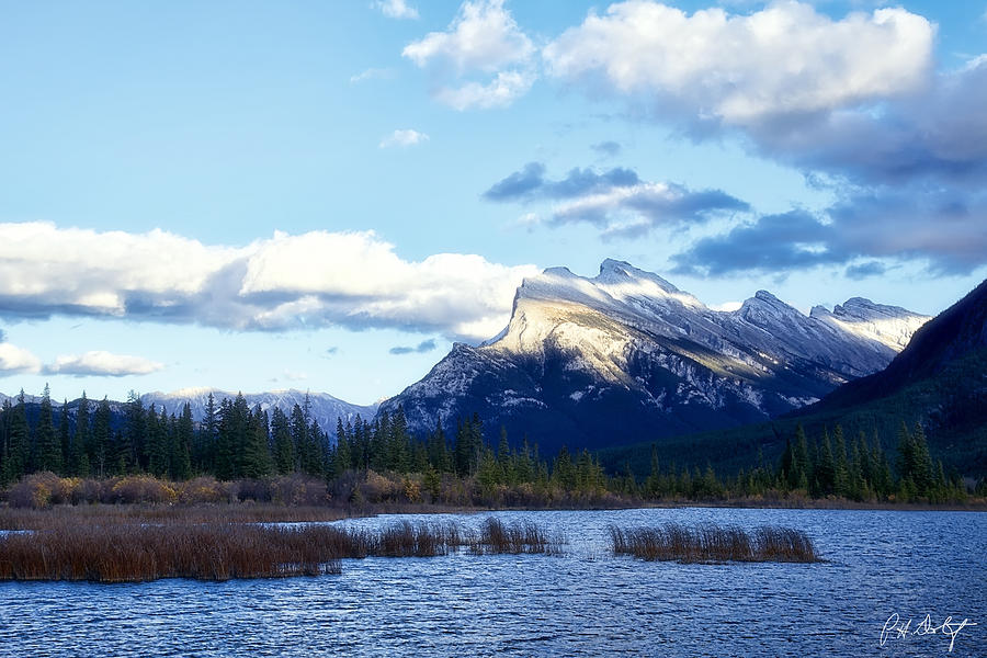 Alberta Photograph - Mount Rundle by Phill Doherty