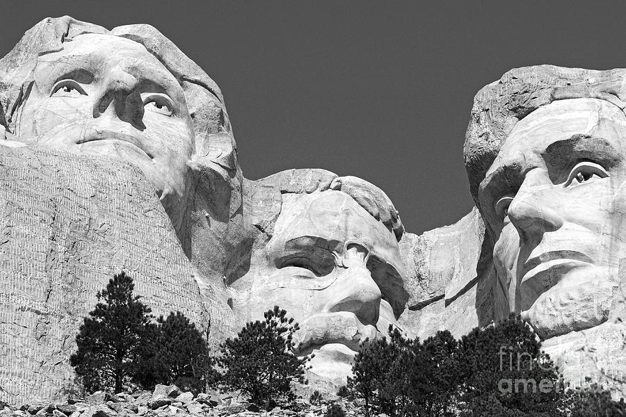 Landscape Photograph - Mount Rushmore by Alex Cassels