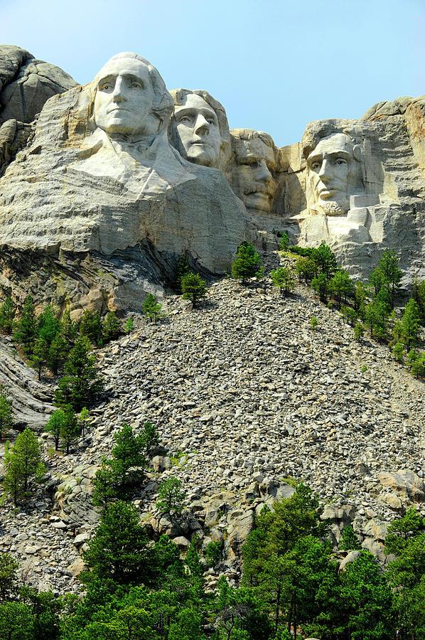 Mount Rushmore National Park Photograph by Dennis Macdonald