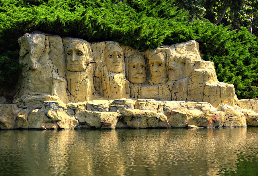 Mount Photograph - Mount Rushmore by Ricky Barnard