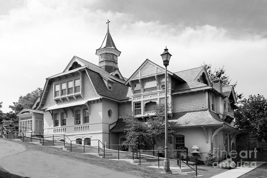 Mount St. Mary College Photograph - Mount Saint Mary College Whittaker Hall by University Icons