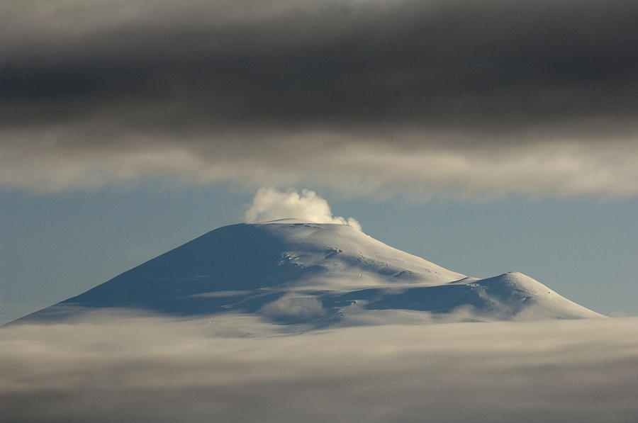 Mount Sanford  Wrangell-st. Elias Np Photograph by Michael Quinton