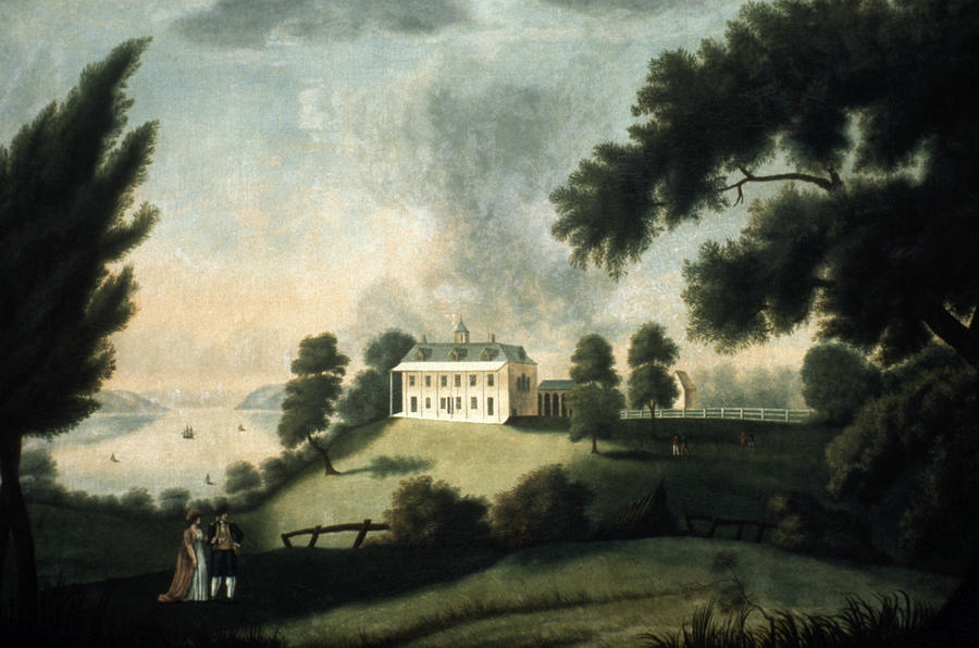 1806 Painting - Mount Vernon, 1806 by Granger