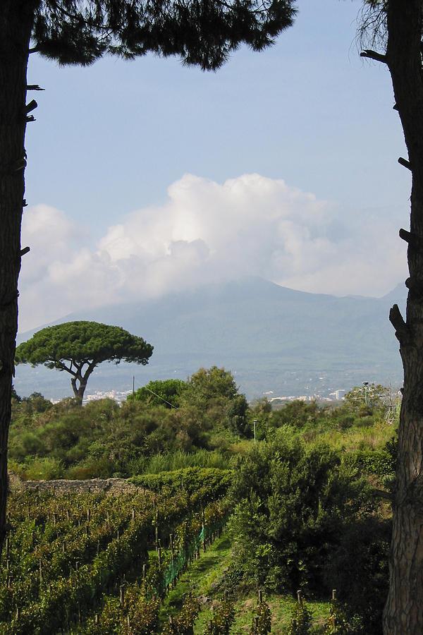 3scape Photograph - Mount Vesuvius by Adam Romanowicz