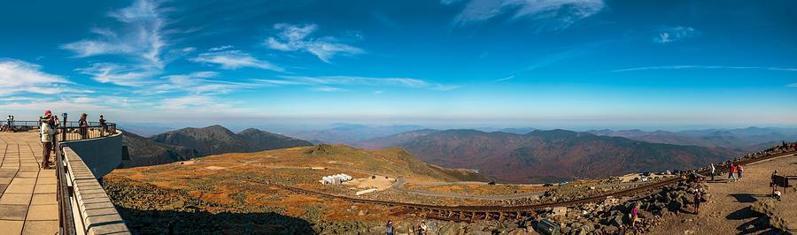 Landscape Photograph - Mount Washington Observatory by Andre Albert