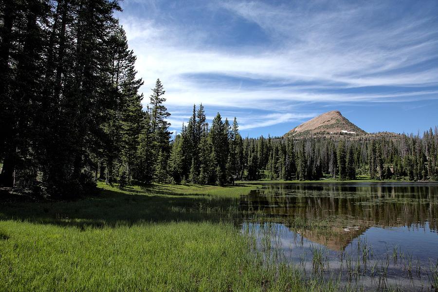 Washington Lake Photograph - Mount Watson by Darryl Wilkinson