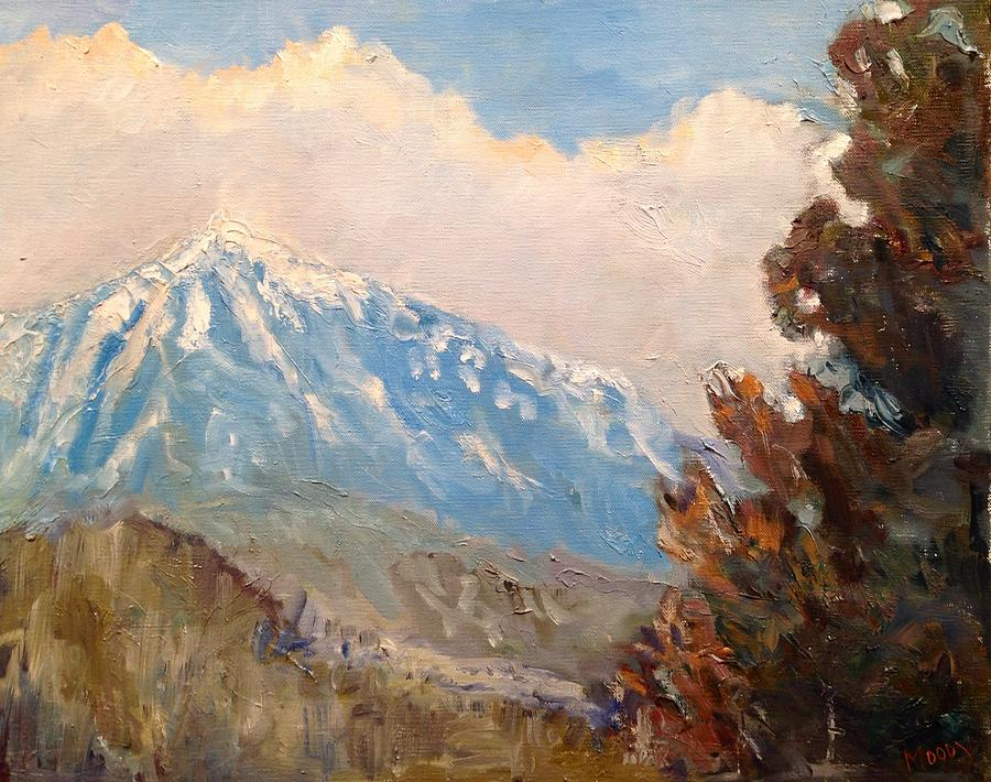 Landscape Painting - Mountain by Brent Moody