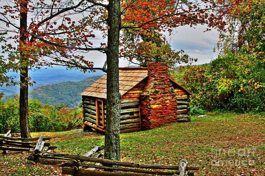 Cabin Photograph - Mountain Cabin 1 by Dan Stone