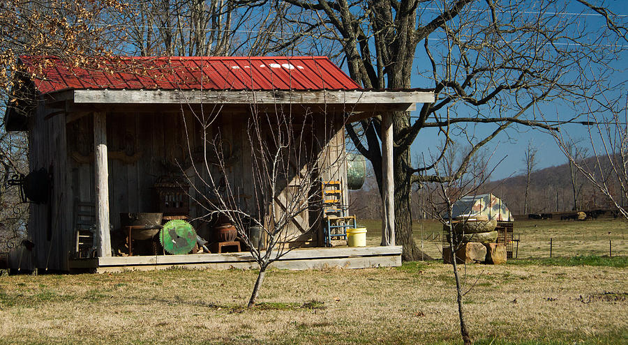 Mountain Photograph - Mountain Cabin In Tennessee 1 by Douglas Barnett