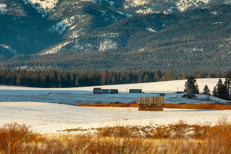 Mountain Cabin Photograph