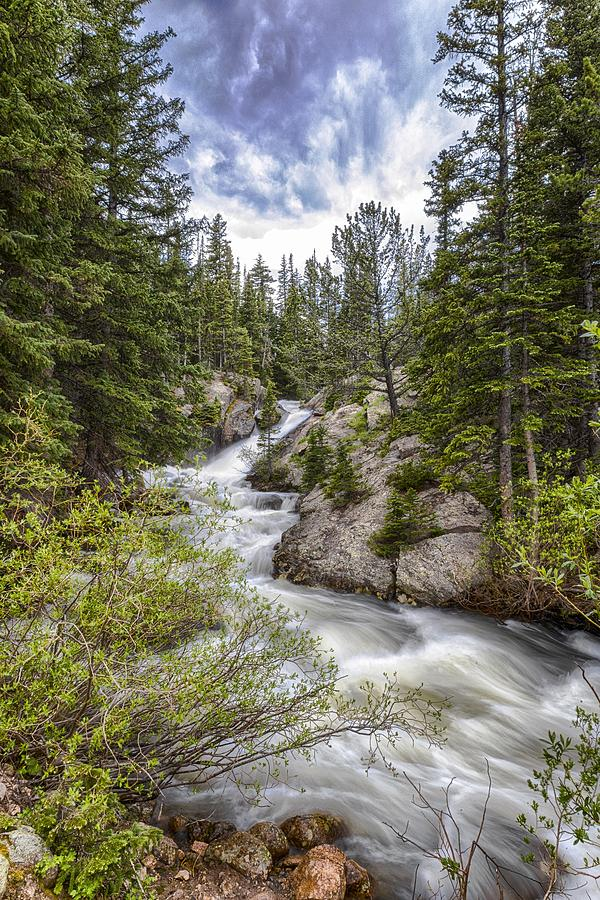 Waterfalls Photograph - Mountain Cascades  by Garett Gabriel