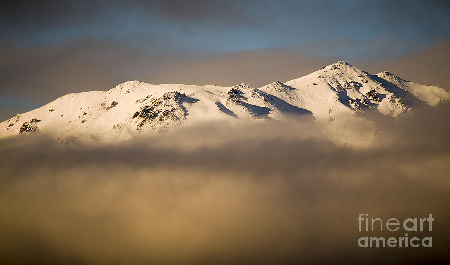 Aspiring Photograph - Mountain Cloud by Tim Hester