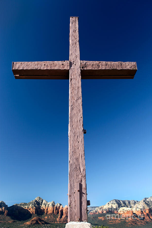 Mountain Cross Photograph
