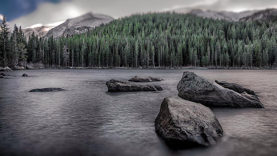 Mountains Photograph - Mountain Lake by Garett Gabriel