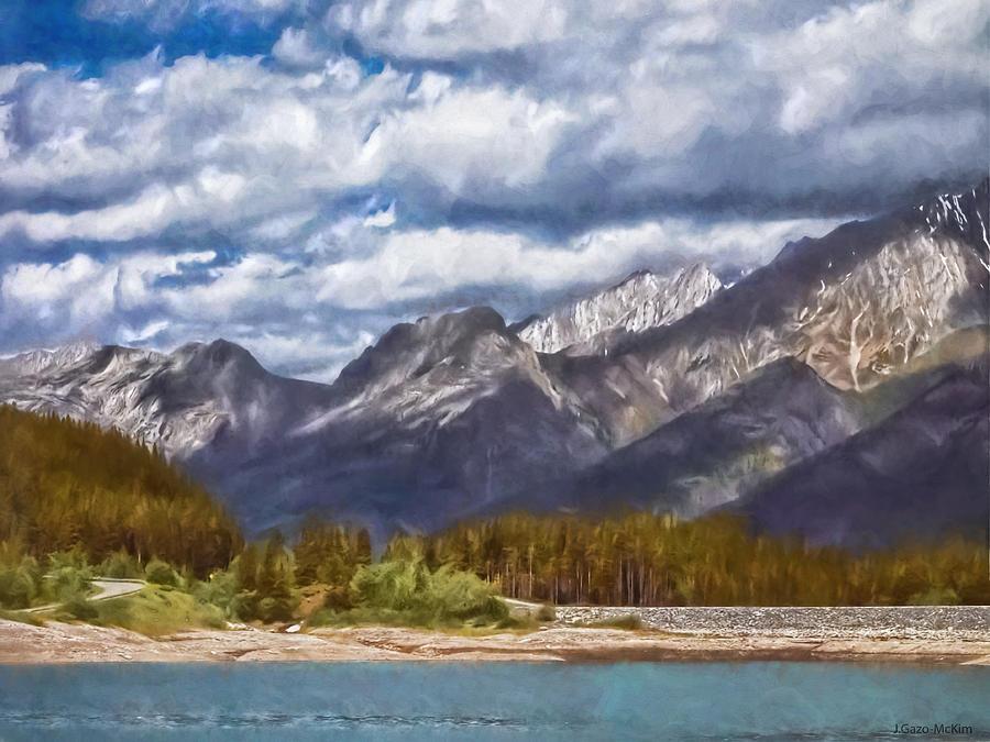 Mountain Lake View Photograph