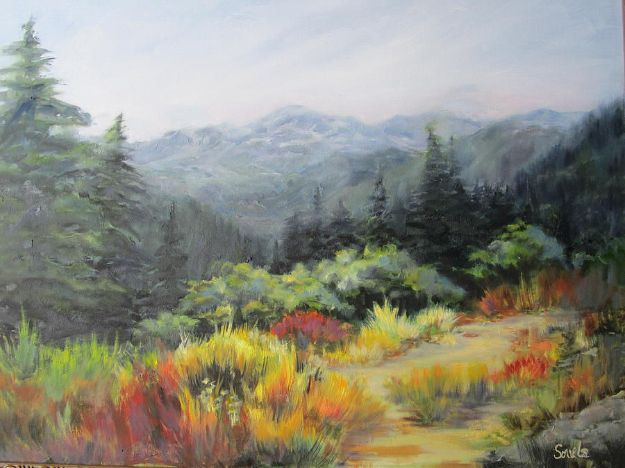 Mountain Meadow by Sharon Sorrels